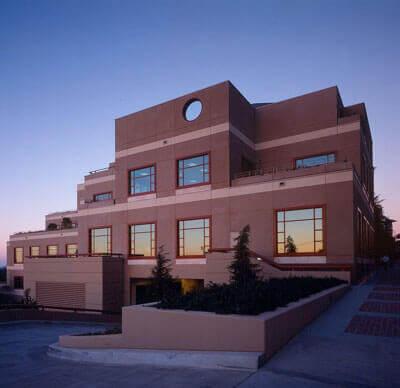 Parnassus library building