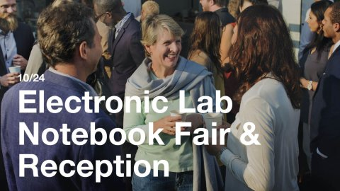 Electronic Lab Notebook Fair
