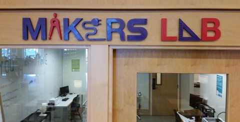 new sign for MakersLab