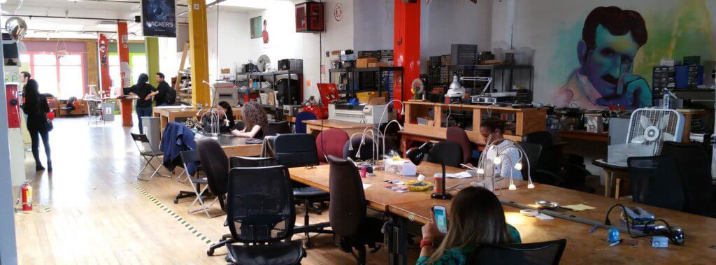 The Noisebridge lab