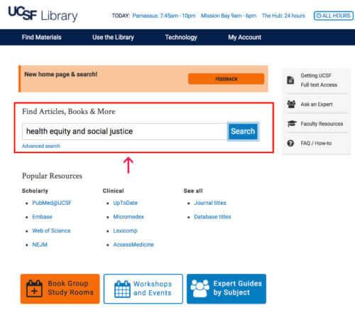 new search box