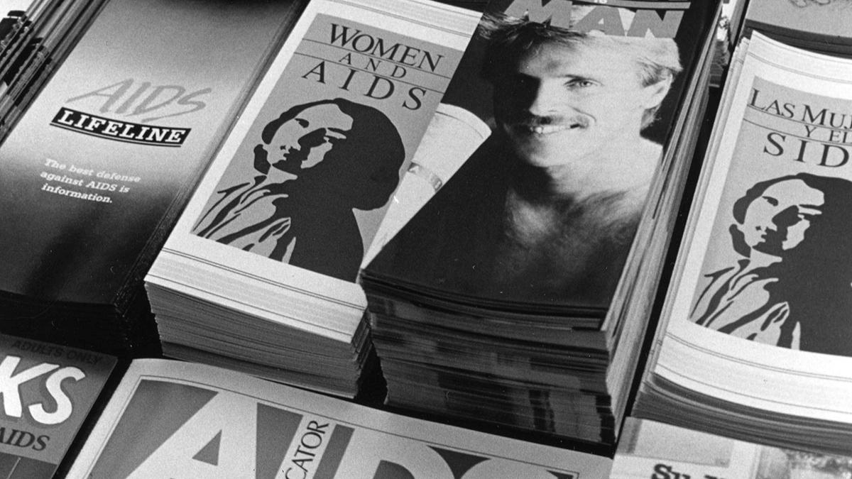 AIDS pamphlets