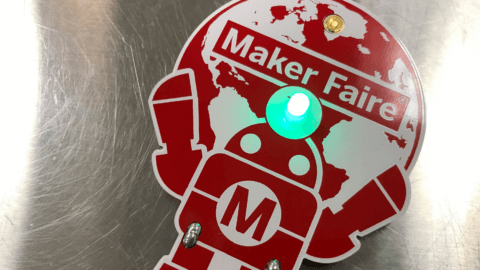 image of maker faire badge